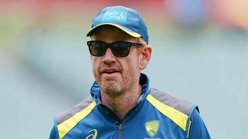 Andrew McDonald will coach Australia for the first time in this week's three-match ODI series