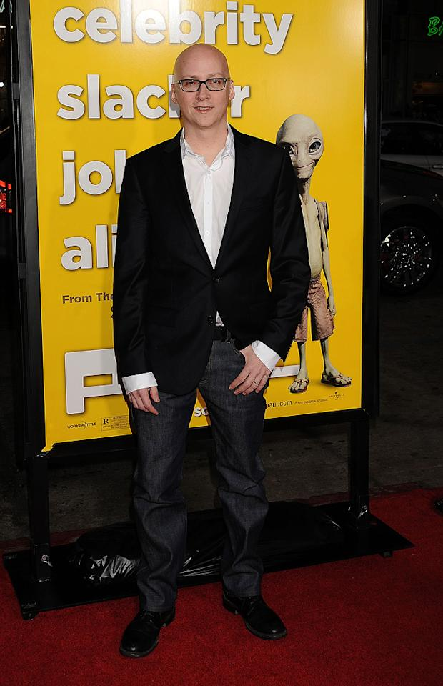 """<a href=""""http://movies.yahoo.com/movie/contributor/1800280619"""">Greg Mottola</a> attends the Los Angeles premiere of <a href=""""http://movies.yahoo.com/movie/1810097993/info"""">Paul</a> on March 14, 2011."""