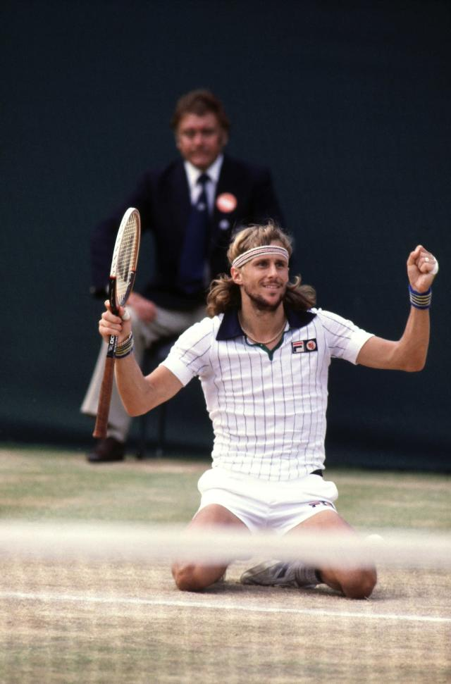 "<p class=""MsoNormal""><span>One of the most famous tennis rivalries in history pitted Bjorn Borg against John McEnroe. Borg won his fifth consecutive Wimbledon final in <b>1980</b>, beating McEnroe in what is regarded as one of the best tennis matches ever. In <b>1981,</b> McEnroe took revenge and beat Borg in the final but was most famous for shouting ""You cannot be serious?!"" and ""Didn't you see the chalk dust?"" </span></p>"