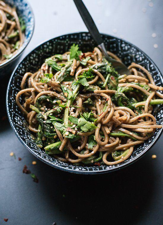 """<strong>Get the <a href=""""https://cookieandkate.com/2015/broccoli-rabe-peanut-soba-noodles/"""" target=""""_blank"""">Broccoli Rabe Peanut Soba Noodles recipe</a>fromCookie + Kate</strong>"""
