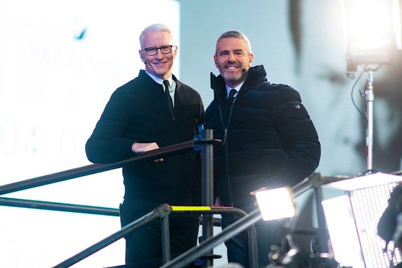 Anderson Cooper (left) and Andy Cohen | Michael Stewart/WireImage