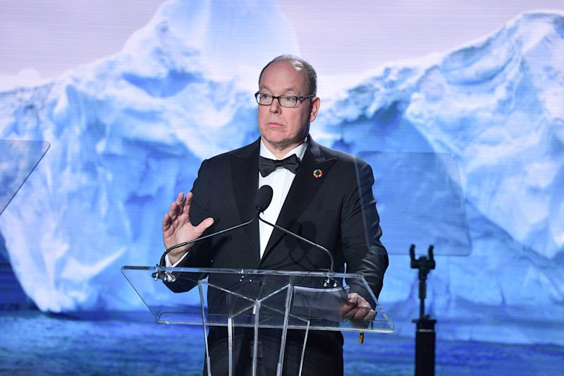 BEVERLY HILLS, CALIFORNIA - FEBRUARY 06: Prince Albert II of Monaco attends 2020 Hollywood For The Global Ocean Gala Honoring HSH Prince Albert II Of Monaco at Palazzo di Amore on February 06, 2020 in Beverly Hills, California. (Photo by George Pimentel/WireImage)
