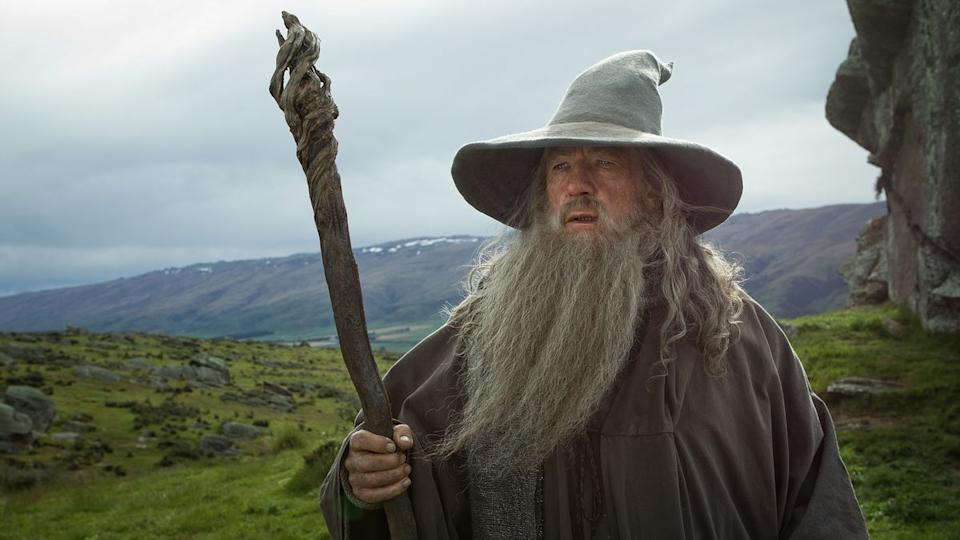 Ian McKellen as Gandalf in 'Lord of the Rings'. (Credit: New Line Cinema)