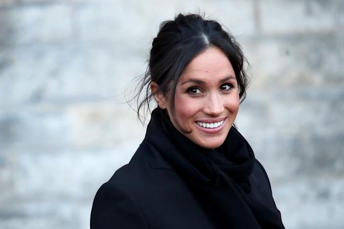 """""""I think you need to cook that beautiful dinner even when it's just you, wear your favorite outfit, buy yourself some flowers, and celebrate the self love that often gets muddled when we focus on what we don't have."""" &mdash;<i><a href=""""https://www.harpersbazaar.com/celebrity/latest/news/a20696/meghan-markle-valentines-day/"""" rel=""""nofollow noopener"""" target=""""_blank"""" data-ylk=""""slk:Meghan Markle on her blog The Tig in 2015"""" class=""""link rapid-noclick-resp"""">Meghan Markle on her blog The Tig in 2015</a></i>"""