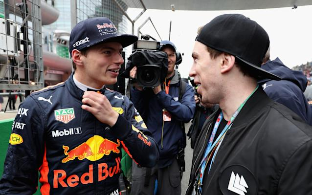 <span>Verstappen on the grid before the race</span> <span>Credit: Getty images </span>