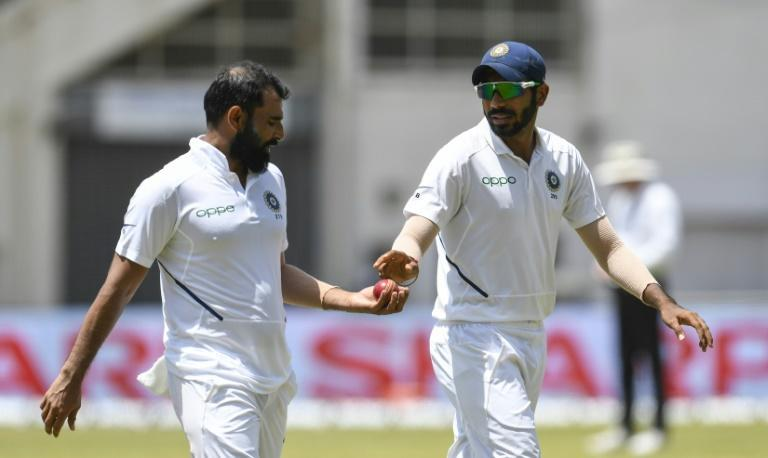 Deadly duo: Mohammed Shami (left) and Jasprit Bumrah will lead a strong India fast bowling attack who should enjoy bowling with the extra pace and bounce offered on Australian wickets