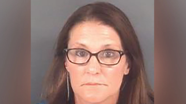 Sheri Jones in her mug shot. (Photo: Cumberland County Detention Center)