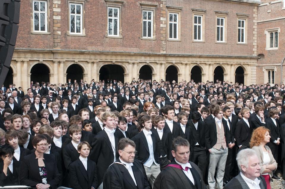 Should pupils from Eton be penalised in the job market? (Picture: PA)