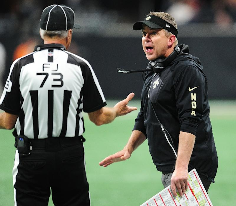 Saints coach Sean Payton calls out officials; National Football League reviewing coach's behavior