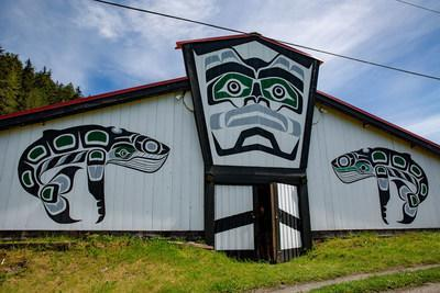 Kwikwasut'inuxw Haxwa'mis First Nation's conservation endowment will provide access to local, family-supporting endowment based out of Gwa-yas-dums (Gilford Island). Photo by Brodie Guy. (CNW Group/Coast Funds)