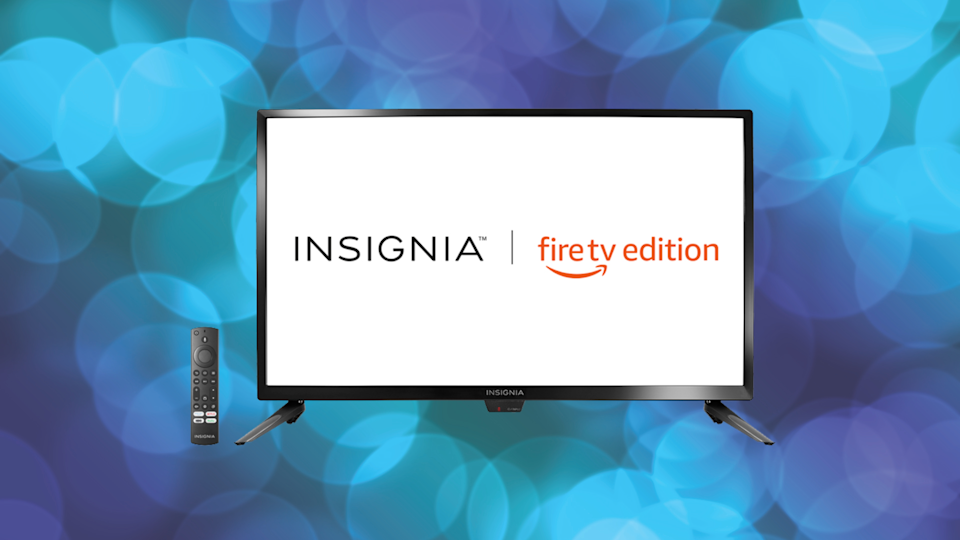 The eye-popping colors will blow you away. (Photo: Insignia)