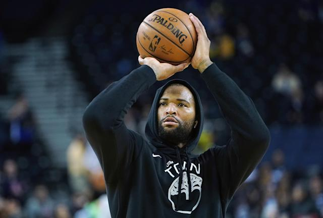 DeMarcus Cousins has some advice for Zion Williamson following his shoe-ripping injury on Wednesday night. (Photo by Thearon W. Henderson/Getty Images)