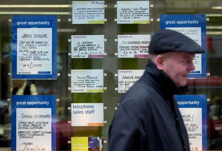 United Kingdom jobless rate dips to 44-year low