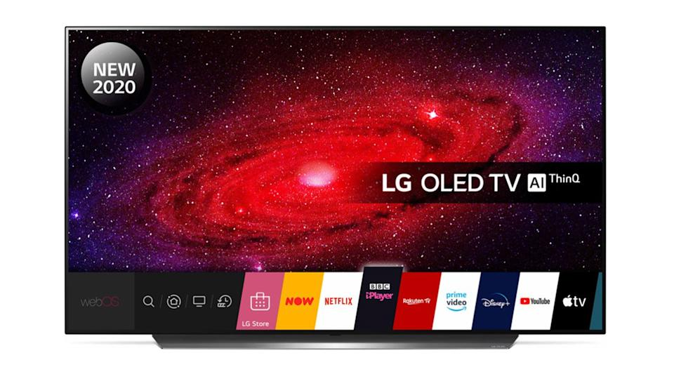 "LG 55"" Smart 4K Ultra HD HDR OLED TV with Google Assistant & Amazon Alexa"