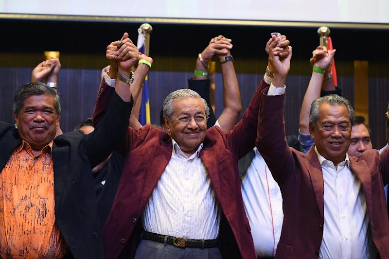 The 92-year-old Mahathir -- who was himself accused of ruling with an iron fist in his first stint as premier -- is now the world's oldest elected leader (AFP Photo/Manan VATSYAYANA)