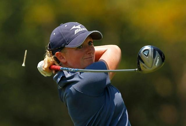 Stacy Lewis is out of the US Solheim Cup team (AFP Photo/STREETER LECKA)