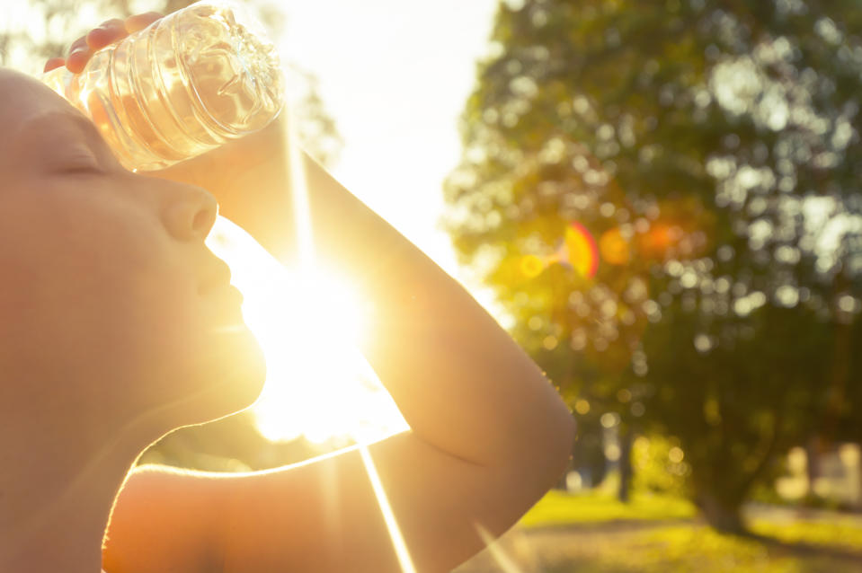 This weekend's hot weather could see people suffering from heat stroke [Photo: Getty]