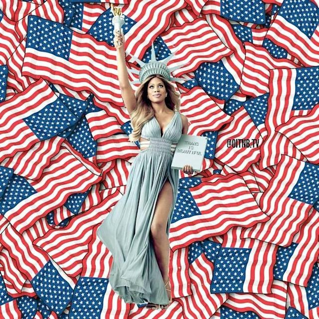 "<p>Laverne Cox was serving good patriotic Instagram. While reminding people that ""Trans is Beautiful,"" Cox shared an important message. ""Here's to freedom and independence for all, now more than ever, for all,"" she wrote. (Photo: Laverne Cox <a href=""https://www.instagram.com/p/BWISt4Cgj7z/"" rel=""nofollow noopener"" target=""_blank"" data-ylk=""slk:via Instagram"" class=""link rapid-noclick-resp"">via Instagram</a>)<br><br></p>"