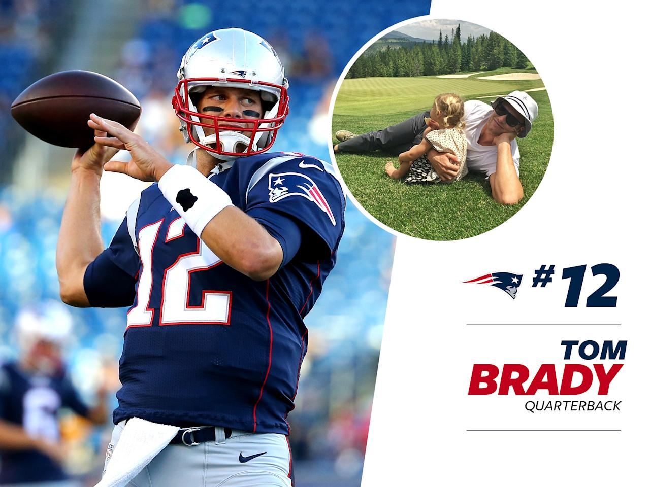 """<p>Patriot's quarterback Tom Brady is a style star in his own right — without the help of supermodel wife, Gisele Bündchen. Not counting the <a rel=""""nofollow"""" href=""""http://sports.yahoo.com/m/50d758df-728d-3ee5-b31c-fa0dd4e7693c/ss_tom-brady-wears-massive-coat.html"""">ridiculous coat</a>he wore against the Steelers, Brady's had some standout fashion moments, and <a rel=""""nofollow"""" href=""""https://www.bloomberg.com/news/articles/2016-09-14/patriots-quarterback-tom-brady-has-some-style-advice-for-you"""">loves to gush about Tom Ford</a>. </p>"""