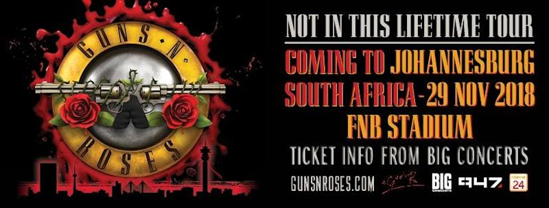 Guns N' Roses in South Africa