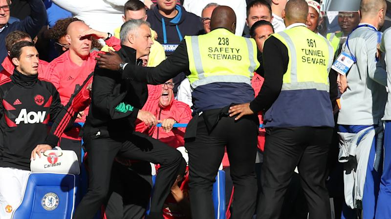 Forget it it's over- Mourinho accepts apology over touchline row