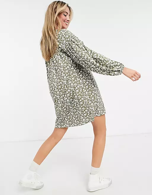 """<h2>ASOS DESIGN Sage Floral Mini Smock Dress<br></h2><br><br><strong><em>The Florals-For-Spring-Groundbreaking Dress</em></strong><br><br>Sometimes, when warm weather rolls around, you just want a pretty, swingy dress in a print that reminds you (and everyone around you) that spring has SPRUNG. Monki's verdantly-patterned frock is your one-way ticket to a season full of bike rides, picnics, and lazy long weekends.<br><br><strong>The Hype:</strong> 4 out of 5 stars; 8 reviews on ASOS.com<br><br><strong>What They're Saying:</strong> """"I bought this for my daughter and she looked very cute in it. Perfect style for the free-spirited individual that she is."""" — Reviewer on ASOS.com<br><br><em>Shop <strong><a href=""""https://www.asos.com/"""" rel=""""nofollow noopener"""" target=""""_blank"""" data-ylk=""""slk:ASOS"""" class=""""link rapid-noclick-resp"""">ASOS</a></strong></em><br><br><strong>ASOS DESIGN</strong> Sage Floral Mini Smock Dress, $, available at <a href=""""https://go.skimresources.com/?id=30283X879131&url=https%3A%2F%2Fwww.asos.com%2Fus%2Fasos-design%2Fasos-design-button-up-mini-smock-dress-with-long-sleeves-in-sage-floral-print%2Fprd%2F22458023"""" rel=""""nofollow noopener"""" target=""""_blank"""" data-ylk=""""slk:ASOS"""" class=""""link rapid-noclick-resp"""">ASOS</a>"""
