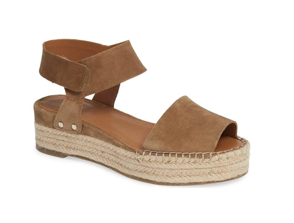 <p>For a failsafe pick that'll work for every occasion, go for this <span>SARTO by Franco Sarto Oak Platform Wedge Espadrilles</span> ($99).</p>