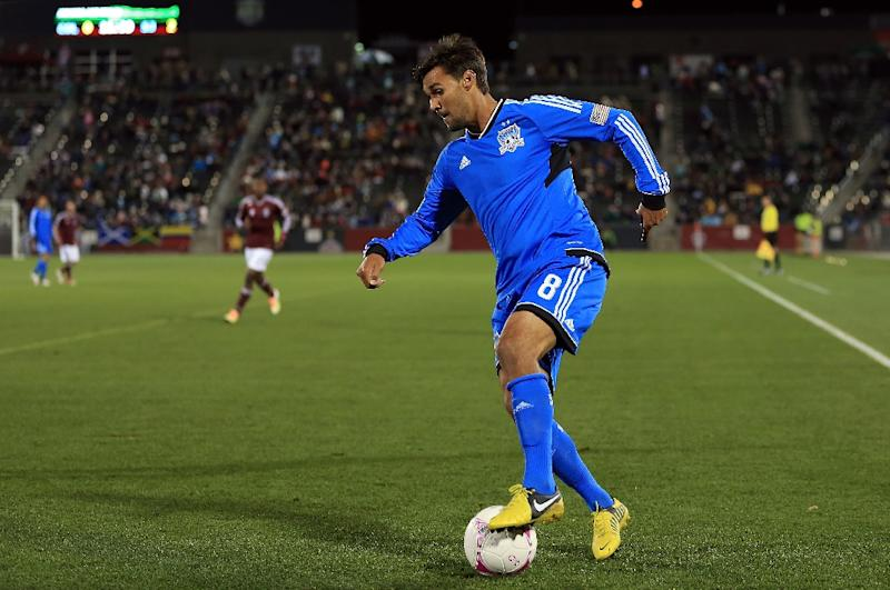 Chris Wondolowski (pictured October 2012) finished the day with 148 goals in 338 MLS appearances