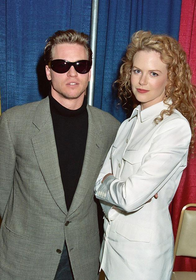 The actor, pictured in 1995 with Batman Forever co-star Nicole Kidman, was a Hollywood heartthrob in his prime. Source: Getty