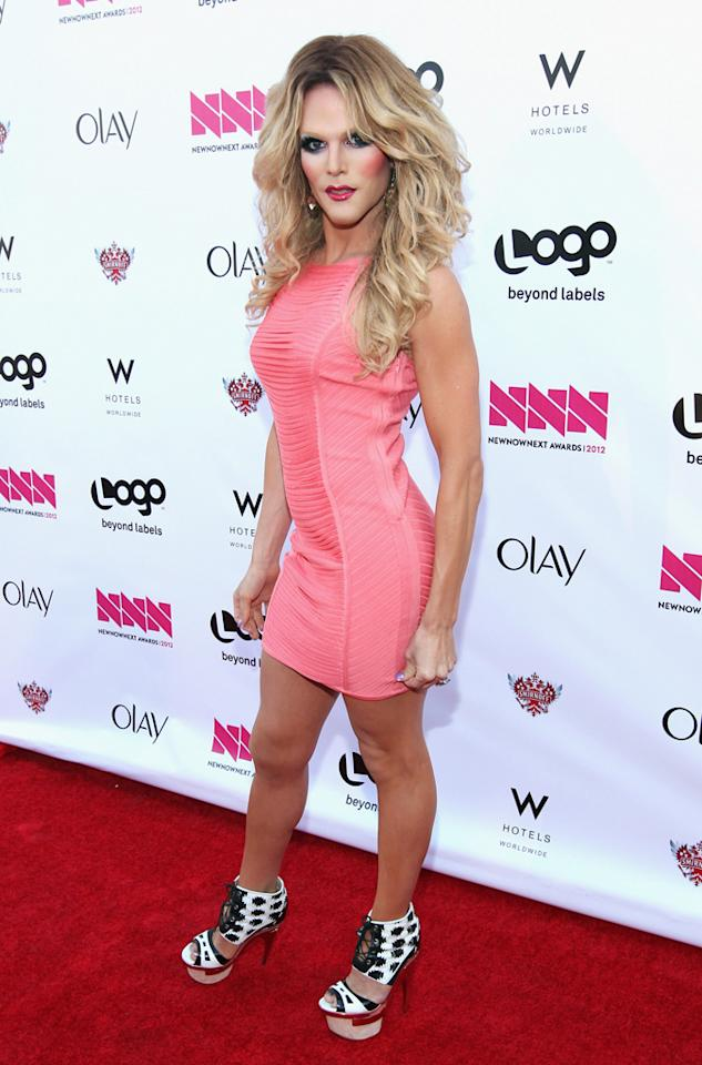 Willam Belli arrives at LOGO's NewNowNext Awards at Avalon on April 5, 2012 in Hollywood, California.