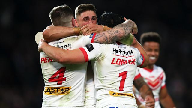 St Helens will say goodbye to head coach Justin Holbrook, who revelled in seeing his side clinch Grand Final glory against Salford.