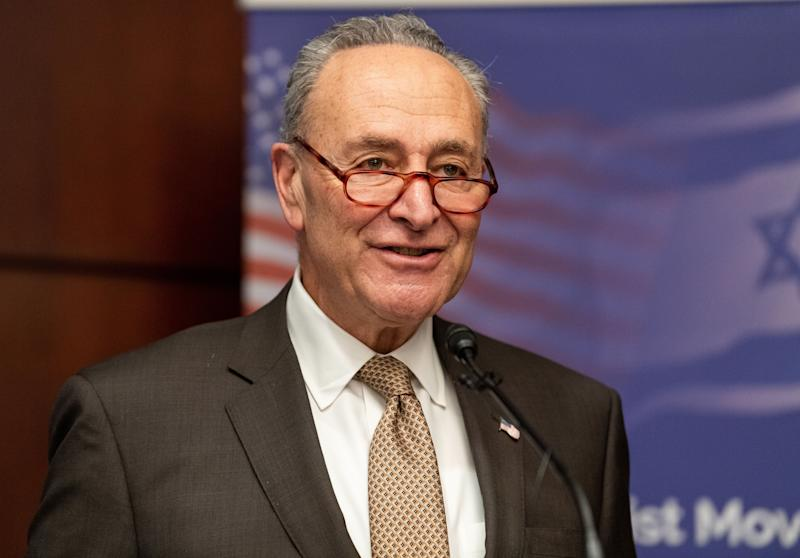 Senate Minority Leader Chuck Schumer (D-N.Y.) is urging Congress to say Friday'sAffordable Care Act ruling should be overturned. (Photo: SOPA Images via Getty Images)