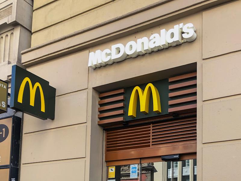 There are about 1,300 McDonald's restaurants in the UK