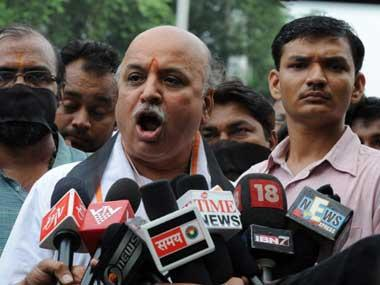 By allowing Pravin Togadia to continue as VHP chief, saffron fold has shown remarkable flexibility