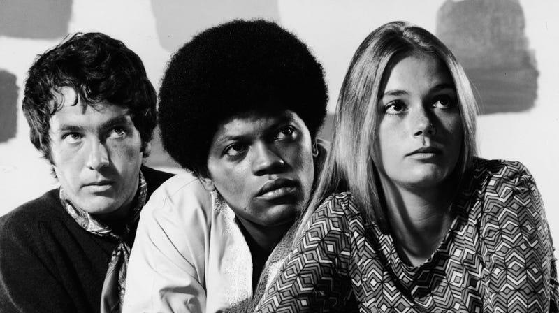 Michael Cole, Clarence Williams III, and Peggy Lipton
