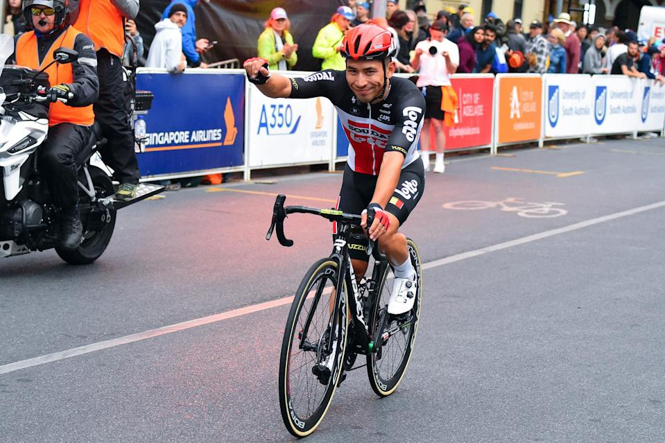 The first win of the year for Caleb Ewan (Lotto Soudal) at the 2020 Schwalbe Classic circuit race in Adelaide, Australia