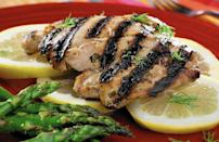 """<p>Lemon, white wine vinegar, honey, mustard, dill and basil take your everyday chicken breasts or thighs from dull and dry to straight-up delectable. Serve with simply seasoned broccoli and cauliflower for a healthy warm-weather meal.</p> <p><a href=""""https://www.thedailymeal.com/best-recipes/grilled-lemon-chicken-honey-dijon?referrer=yahoo&category=beauty_food&include_utm=1&utm_medium=referral&utm_source=yahoo&utm_campaign=feed"""" rel=""""nofollow noopener"""" target=""""_blank"""" data-ylk=""""slk:For the Grilled, Dilled Lemon Chicken With Honey and Dijon recipe, click here."""" class=""""link rapid-noclick-resp"""">For the Grilled, Dilled Lemon Chicken With Honey and Dijon recipe, click here.</a></p>"""