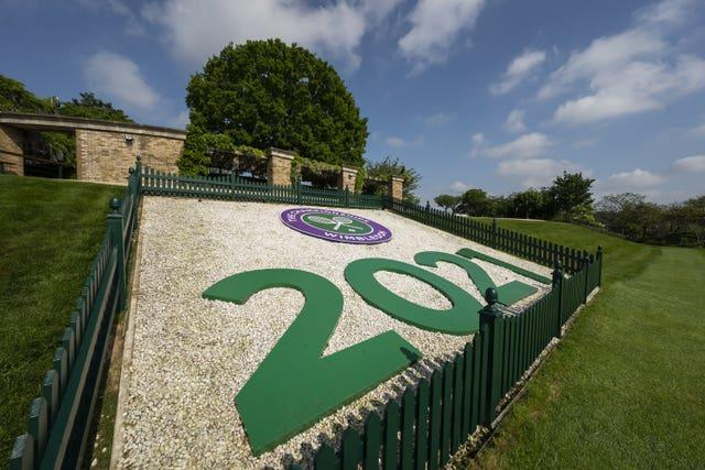 Wimbledon is gearing up to host spectators again