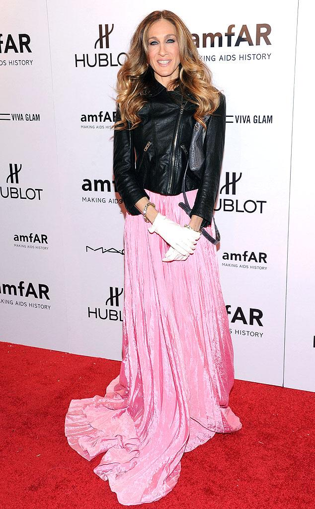 """Actress Sarah Jessica Parker, 46, became a style icon the moment she stepped into the Manolos of """"Sex and the City's"""" resident fashionista, Carrie Bradshaw, back in 1998. Since then, SJP's launched her own clothing line at former discount retailer Steve and Barry's, created several fragrances, and briefly <br>served as the president and chief creative officer of the label Halston Heritage. And there might be more to come, if what she told <em><i>Women's Wear Daily</i></em> in March is true. """"I learned an enormous amount [at Halston], it was invaluable, and I'm definitely curious about pursuing it, and we'll see. I'm sort of figuring that out right now, actually, as we speak."""""""