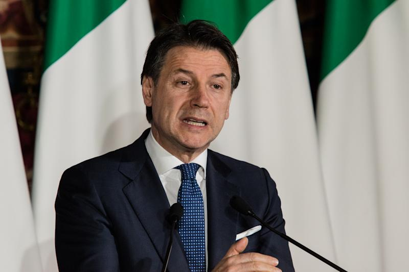 Giuseppe Conte (Photo by Paolo Manzo/NurPhoto via Getty Images)