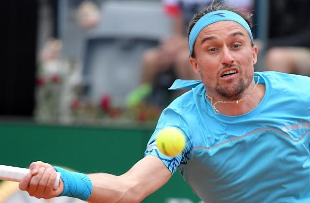 Tough challenge: Alexander Dolgopolov faces Rafael Nadal in the first round in Paris (AFP Photo/TIZIANA FABI)