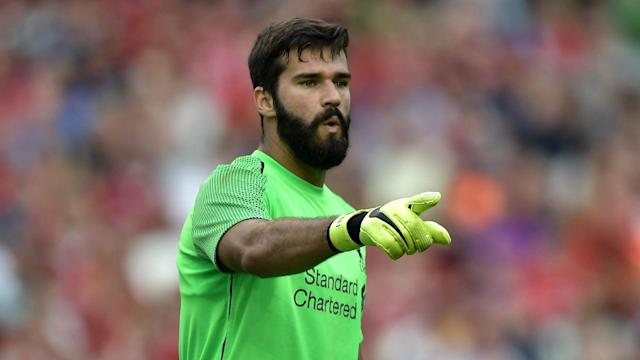 Alisson was (briefly) the world's most expensive goalkeeper