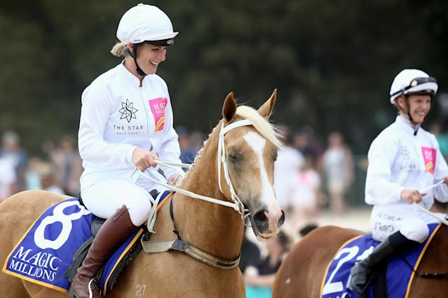 Zara is an accomplished equestrian (Getty Images)