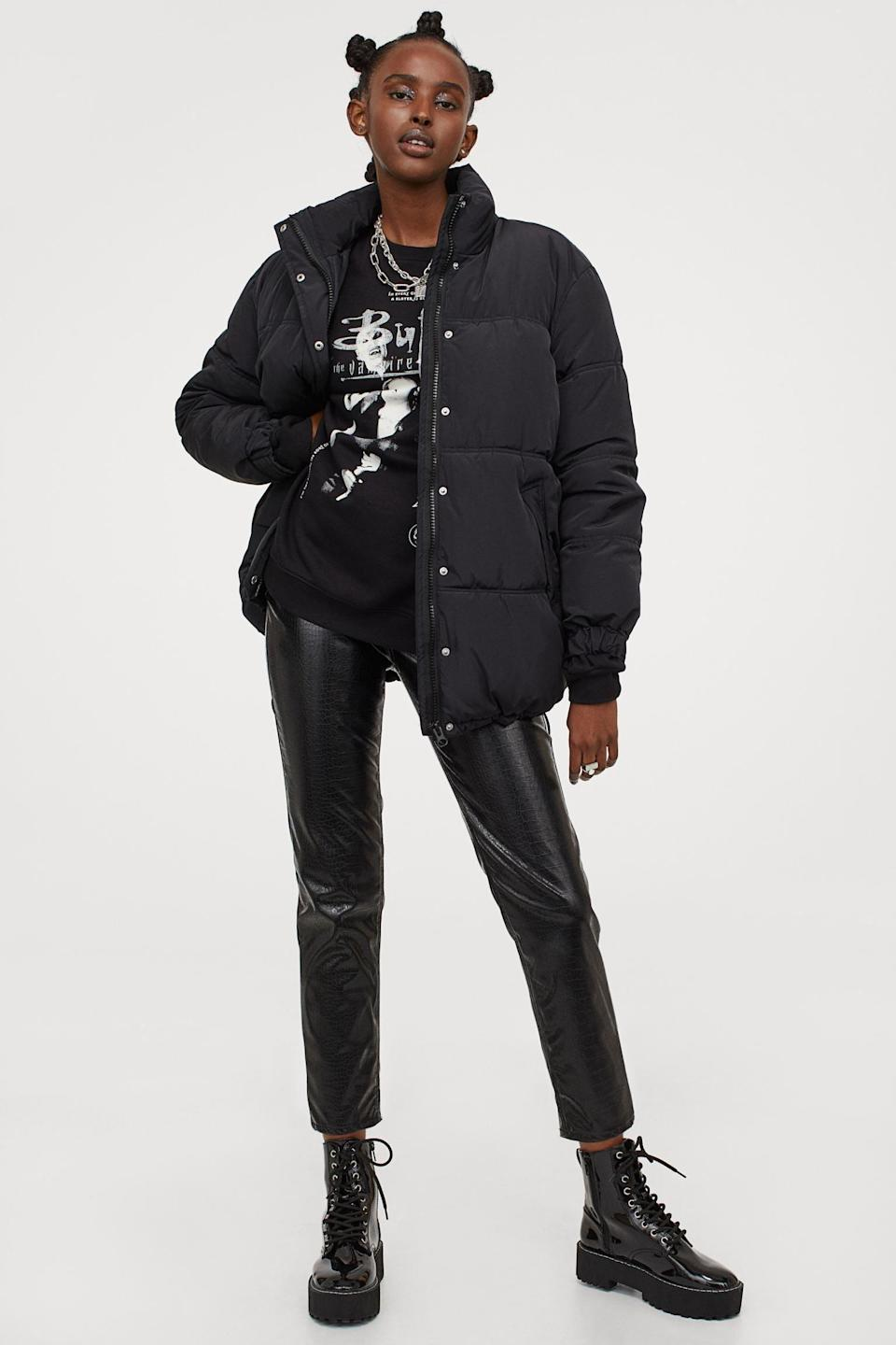 <p>Who doesn't love bundling up in a cozy <span>Oversized Jacket</span> ($60)?</p>