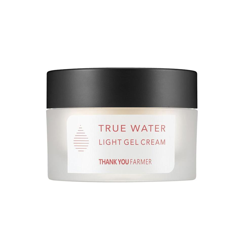 """""""This is very lightweight and melts onto my skin and absorbs quickly. It's great for me because I have oily skin, and it doesn't feel heavy or greasy."""""""