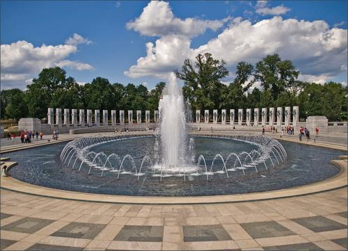 WWII world war two memorial washington dc