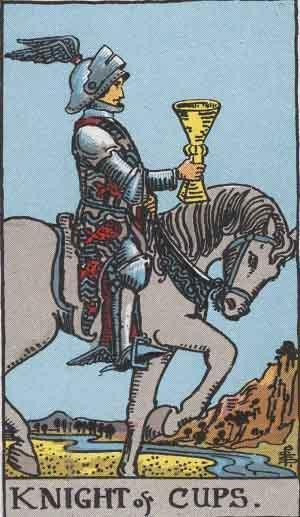 King of Cups card. Photo: Wikimedia Commons