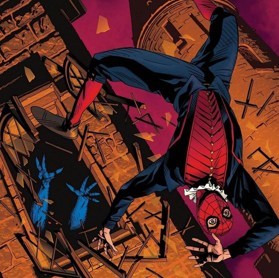 The Spider, also known as the Spider-Man from the Elizabethan era of Marvel: 1602.