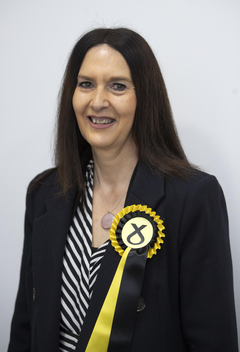 Margaret Ferrier, SNP candidate for Rutherglen. (Photo by Jane Barlow/PA Images via Getty Images)