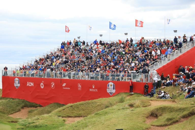 Loud and rowdy: The 43rd Ryder Cup at Whistling Straits is expected to draw up to 45,000 fans a day (AFP/Andrew Redington)